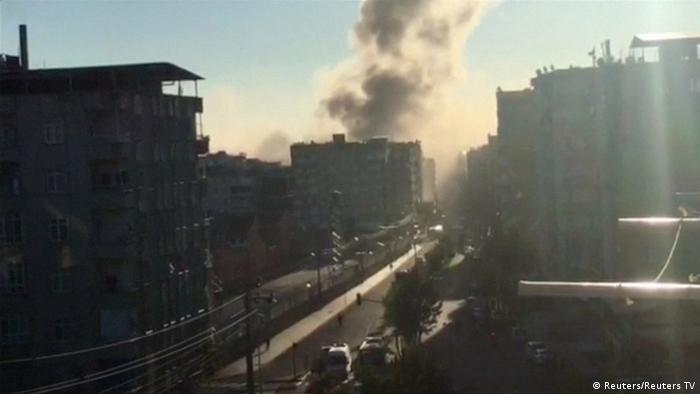 Türkei Explosion in Diyarbakir