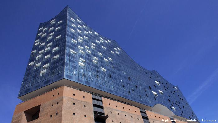 Elbphilharmonie in Hamburg (picture-alliance/Geisler-Fotopress)