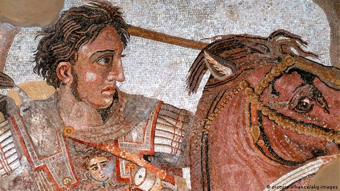 Mosaic of Alexander the Great (picture-alliance/akg-images)