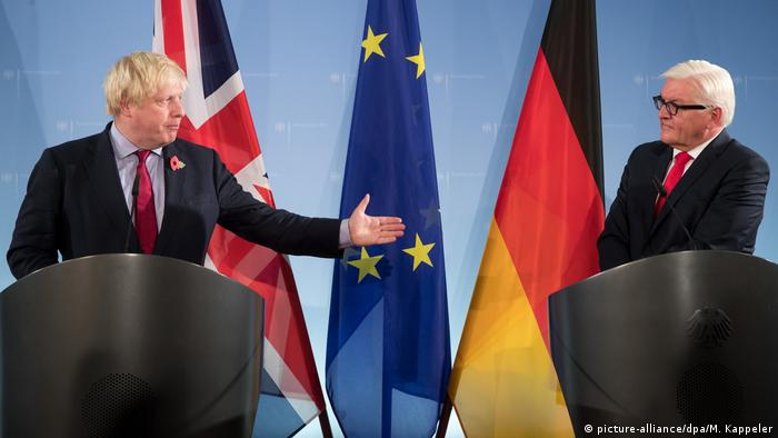 Berlin Johnson bei Steinmeier (picture-alliance/dpa/M. Kappeler)