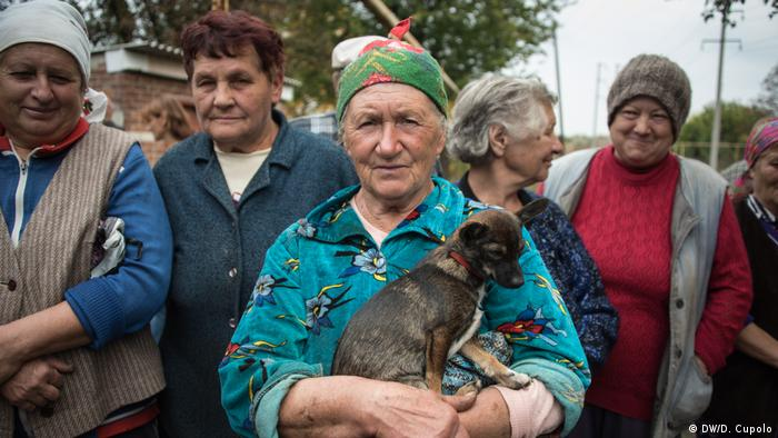 Habitantes de Zhovanka.