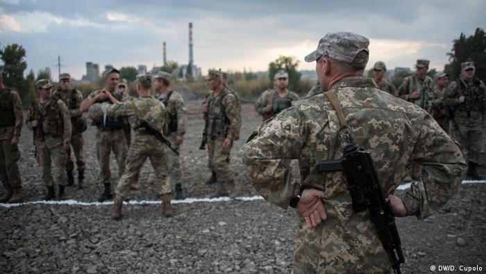 Militares en Ucrania.