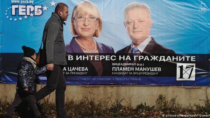 Bulgarien Präsidentenwahlen