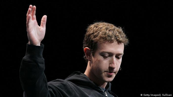 USA Facebooks Geschäftsführer Mark Zuckerberg (Getty Images/J. Sullivan)