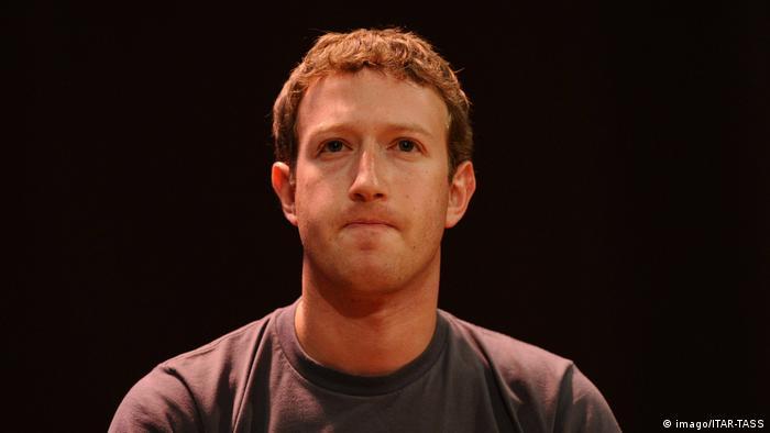 Russland Facebooks Geschäftsführer Mark Zuckerberg in Moskau (imago/ITAR-TASS)