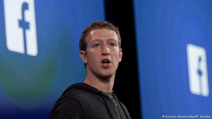 Facebook CEO Mark Zuckerberg (picture-alliance/dpa/P. Dasilva)