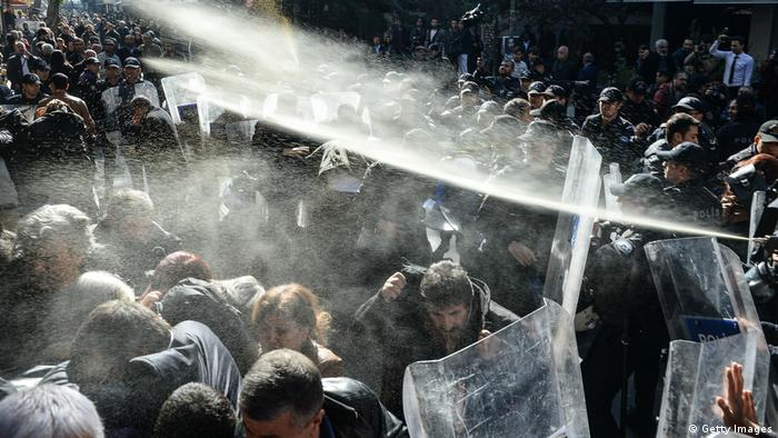 Türkei Kurden Protest in Ankara (Getty Images)