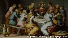 Ölgemälde Das Abendmahl von Giorgio Vasari