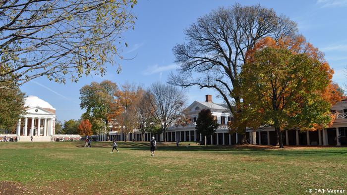 Campus der Universität von Virginia in Charlottesville