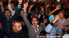 Marokko   Proteste in Rabat