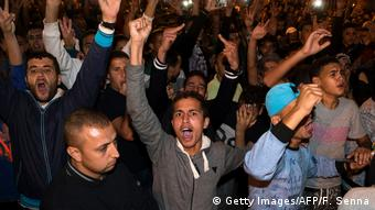 Protests in Morocco on October 30