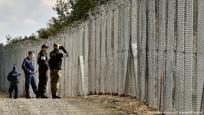 Ungarn Grenzschutz