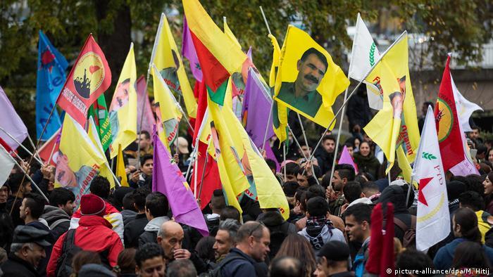 Deutschland Kurden demonstrieren in Köln