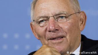 Wolfgang Schäuble Bundesfinanzminister (picture-alliance/AA)