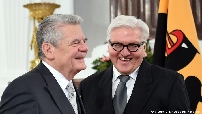 Joachim Gauck und Frank-Walter Steinmeier