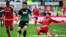INGOLSTADT, GERMANY - NOVEMBER 05: Koo Ja-Cheol of Augsburg in action during the Bundesliga match between FC Ingolstadt 04 and FC Augsburg at Audi Sportpark on November 5, 2016 in Ingolstadt, Germany. (Photo by Adam Pretty/Bongarts/Getty Images)