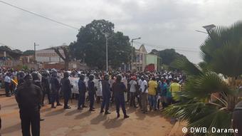 Protest Bissau