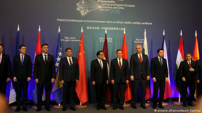 Lettland 5. Gipfel von Regierungschefs zentral- und osteuropäischen Länder und China
