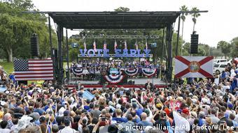 USA Florida Präsidentschaftswahl Hillary Clinton