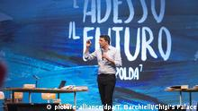 Italien Premierminister Matteo Renzi bei der Leopolda 7 'and now the future'