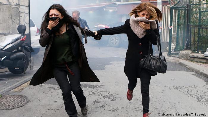 Protesto em Istambul