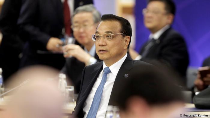 Lettland Treffen 16+1-Kooperation / China und Länder Mittel- und Osteuropas (Reuters/I. Kalnins)
