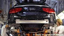 Audi A8 being assembled in Germany