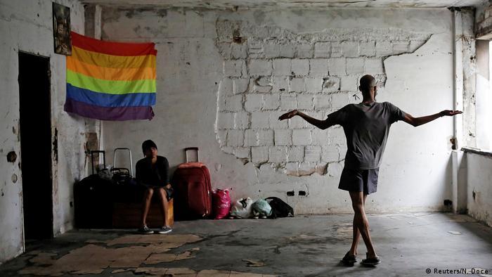 Brasilien Sao Paulo LGBT Movimento dos Sem-Teto