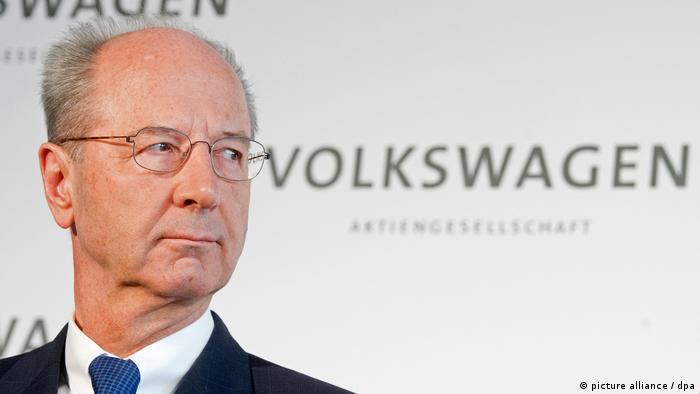 Hans Dieter Pötsch, Aufsichtsratsvorsitzender der Volkswagen AG, (picture alliance / dpa)