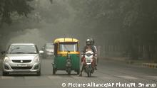 Indien Delhi Luftverschmutzung