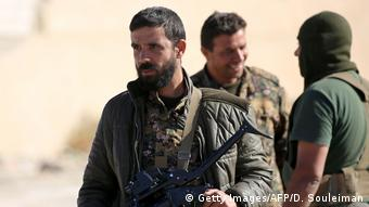 Syrien SDF Strum auf Rakka (Getty Images/AFP/D. Souleiman)