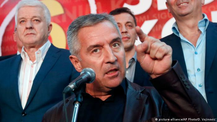Montenegro: Djukanovic claims presidential victory