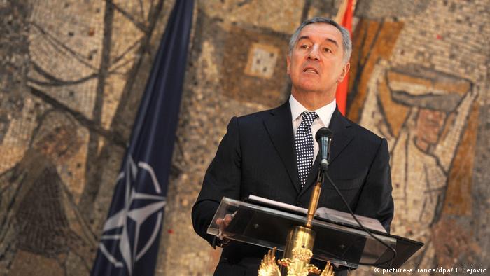 Montenegro Premierminister Milo Djukanovic