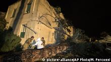 Italien Cesano Schäden durch Tornado