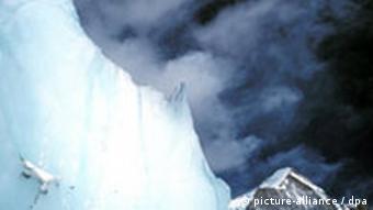 Der Khumbu-Gletscher vor dem Everest-Basislager (Foto: dpa)