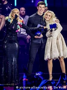 Niederlande Rotterdam Ceremony - MTV Europe Music Awards 2016 (picture-alliance/dpa/R. De Waal)