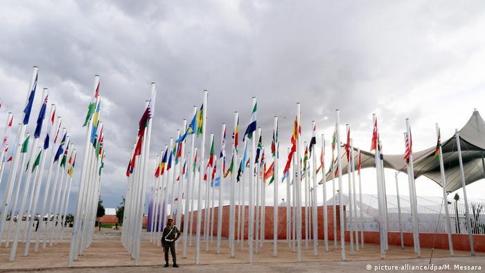 Marokko Marrakesch Weltklimakonferenz UN Climate Change Conference COP22