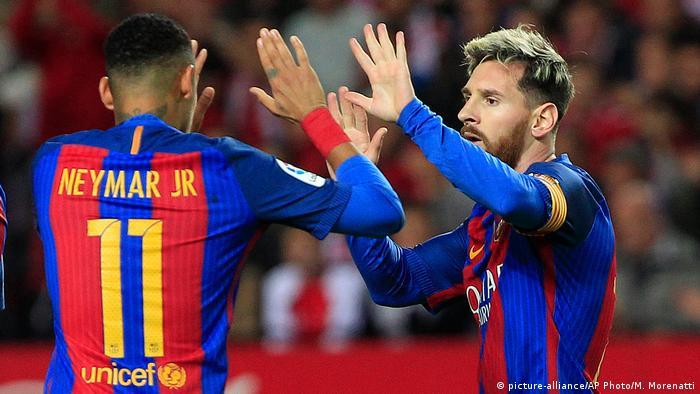Neymar y Messo en sus tiempos azulgrana