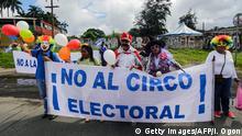 Nicaragua Proteste am Wahltag