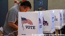 USA Pacific Palisades Stimmabgabe zur US-Präsidentschaftswahl