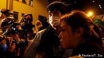 Hongkong Abgeordnete Baggio Leung & Yau Wai Ching