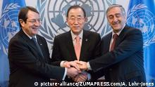 USA UN Zyperns Friedensgespräche