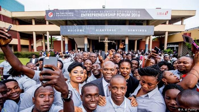 Young African entrepreneurs at the 2016 Entrepreneurship Forum (A. di Palma )