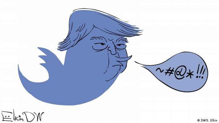 карикатура Елкина о Трампе