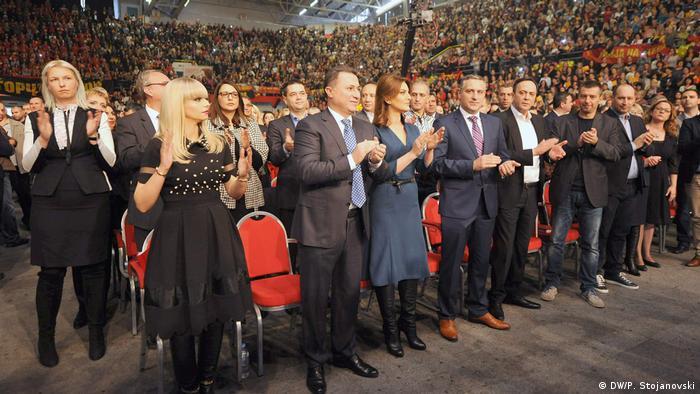 Mazedonien Nikola Gruevski (DW/P. Stojanovski)