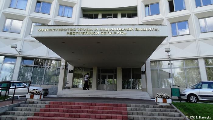 Weißrussisches Arbeitsministerium Minsk