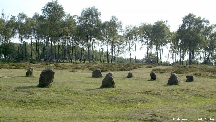 Grossbritannien Nine Ladies Stone Circle, Stanton Moor (picture-alliance/E. Davies)