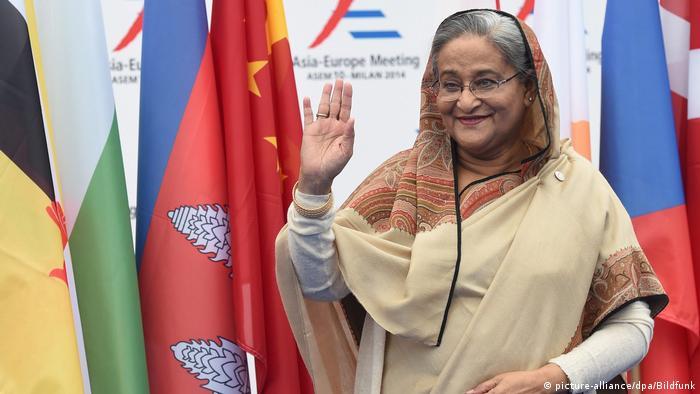 Sheikh Hasina Wajed (Picture-alliance/dpa/Bildfunk)