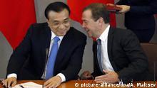 Russland Besuch Chinesischer Premier Li Keqiang