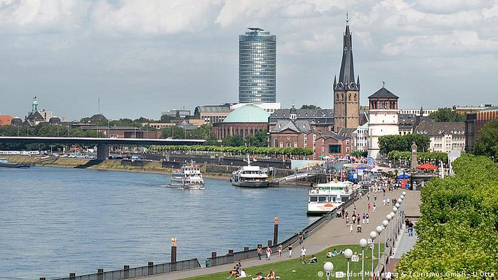 Rhine, Dusseldorf (Düsseldorf Marketing & Tourismus GmbH - U.Otte)